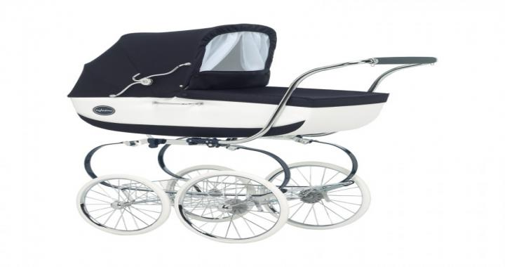 diesen retro kinderwagen auch in creme und wei quelle herstelle pictures to pin on pinterest. Black Bedroom Furniture Sets. Home Design Ideas